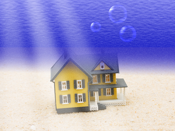 The Divide In Home Equity Between Underwater Borrowers